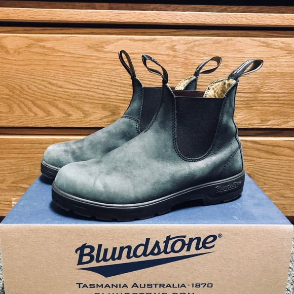 c6063ef3d008 Blundstone Shoes - Blundstone 587 Rustic Black Boots